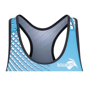 KiWAMi Prima Openback Suit Women black/turquoise